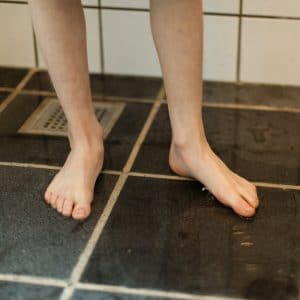 How To Make A Tiled Shower Floor Less Slippery